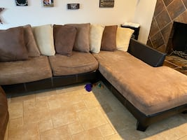 """""""L"""" shaped sectional"""