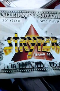 "Stryper ""In God We Trust"" vinyl album La Plata, 20646"