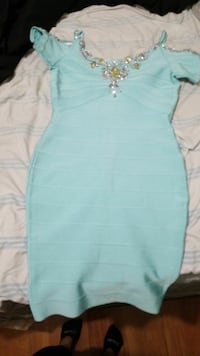 Size small its like colombian material never worn.