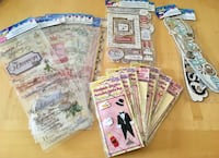 Lot of New Wedding & Bridal Shower Stickers, Page Borders/Corners Montréal, H4R 1K8