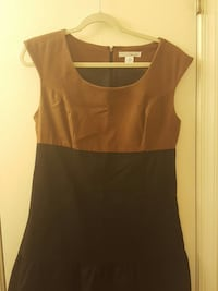 brown and black scoop neck sleeveless zip up back  Newark, 19711