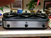 gray stainless steel cooking home appliance