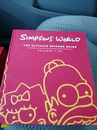 Simpsons world the ultimate episode guide  Gaithersburg, 20877