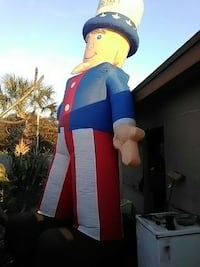 Two of man in blue and white inflatable home decor Melbourne, 32935
