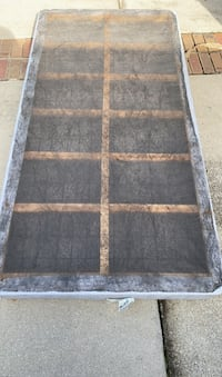 Twin bed base
