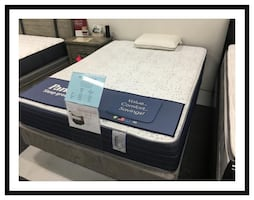 King Size Ultra Firm Mattress Set New In Plastic