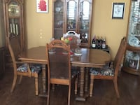 Dining table 4 chairs and leaf Henderson, 89052