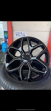 GLOSS BLACK MILLED 22 INCH