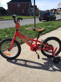 Opus scout bicycle with training wheels Barrie, L4M 4G5