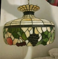 Tiffany style lamp stained glass