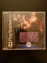 Medal of Honor Underground for PS1  Vaughan, L4L