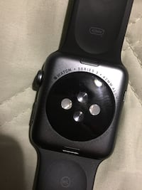 Black apple watch with black sports band Hyattsville, 20783