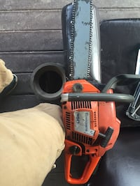 red and black Husqvarna 350 gas-powered chainsaw Front Royal, 22630