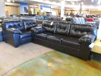 Espresso Bonded Leather Sofa & Loveseat Phoenix, 85018