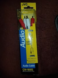 Jvc Audio Cable 4.9ft 1.5 Meter, Tampa, 33619
