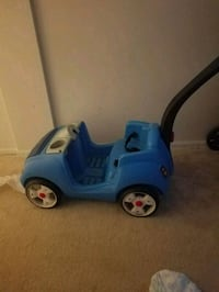 blue and white ride on toy car Rockville, 20852