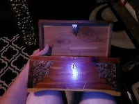Old antique jewelry box Cool Valley