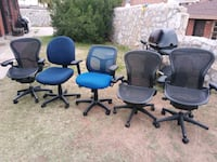 Office chairs left behind El Paso, 79930