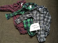 black and white plaid button-up shirt Calgary, T2J 0E5