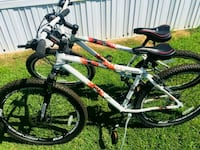 gray and black hardtail mountain bike Fayetteville, 28303