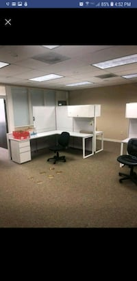 white wooden office sectional desk screenshot Tallahassee, 32305