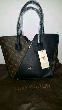 Tote bag in pelle Louis Vuitton nera Maddaloni, 81024