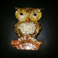 mother of pearl owl wall decor  Allentown