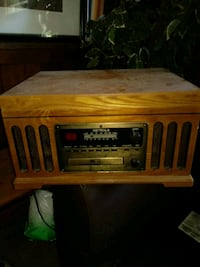 brown wooden framed vintage radio Indianapolis, 46225