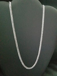 Brand New Sterling Silver Curb Chain Burnaby