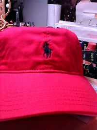 Polo Hat Red with blue pony Nashville, 37203