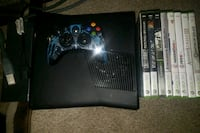 Xbox 360 system Halo controller. 8 games. Omaha, 68135