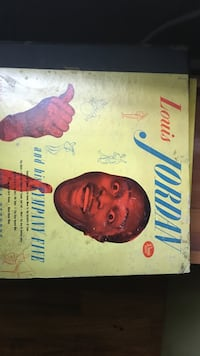 Louis Jordan vinyl album Fairhope, 36532