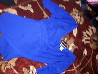 women's blue and black long sleeve shirts Edmonton, T5B 1M5