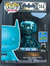 Batman *BLUE* Exclusive Limited Edition Funko Pop