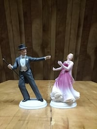Fred Astaire and Ginger Rogers collectibles