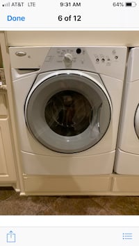 Whirlpool Front Load Washer and Dryer  Mesquite, 75149