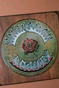 "Grateful Dead ""American Beauty"" vinyl album La Plata, 20646"