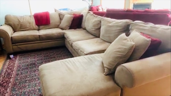 Couch set  separable into 3 pieces