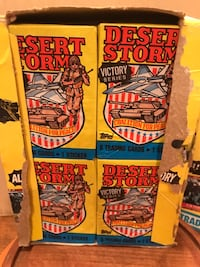 TOPPS DESERT STORM Victory Series collector cards  Gainesville, 20155