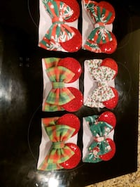 Christmas baby minni headbands  Springfield, 22150