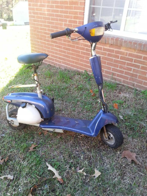 Sit Down Scooter >> Used Gas Powered Sitdown Stand Up Scooter For Sale In Trinity Letgo