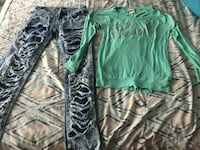 Pants only size 7 shirt sold