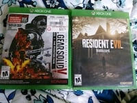 two Xbox One game cases Glendale, 85301