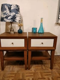 Nice modern 2 night stand with drawers and shelves Annandale, 22003