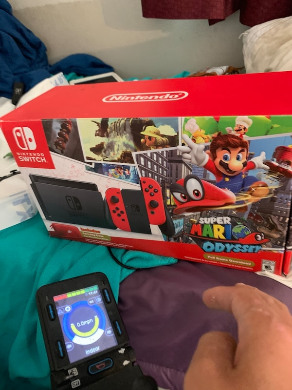 Limited Edition Super Mario Odyssey Nintendo Switch Bundle