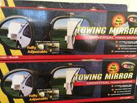 two towing mirror boxes