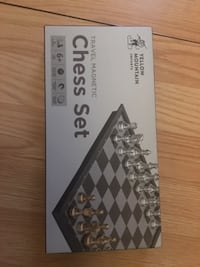 Yellow Mountain Imports Travel Magnetic Chess Set Mississauga