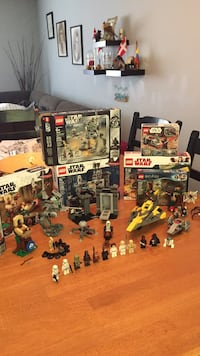 5 lego Star Wars sets + (1 unopened 20th anniversary edition set) Rockville, 20850