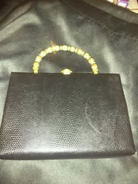 """Antique clutch bag 1950's""""After 5"""" New never used"""