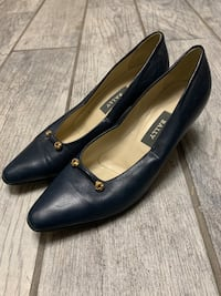 Vintage Bally Juniper Navy Pumps Size 7 1/2 N Springfield, 22150